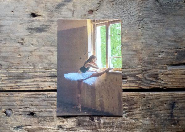 картичка В библиотеката на Читалище Светлина - гр. Шипка