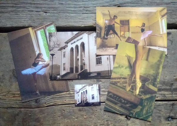 комплект картички и магнит, Читалище Светлина