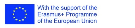 With the support of EU Erasmus + programme